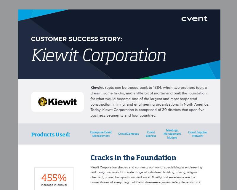 Kiewit Case Study