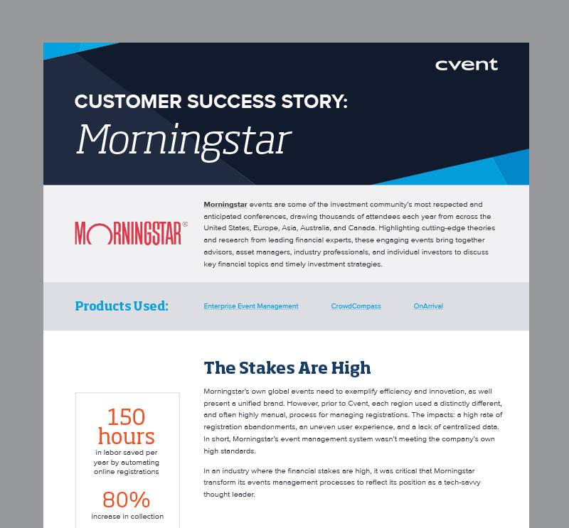 Morningstar Case Study